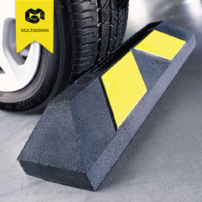 Tope de estacionamiento multigomas