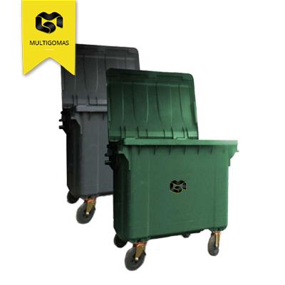 Contenedores de basura de 660 lts